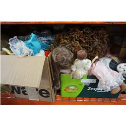 4 BOXES OF COLLECTOR DOLLS