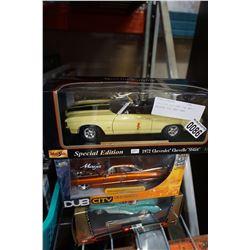 DUB CITY DIE CAST CAR AND 2 MAISTRO DIE CAST CARS
