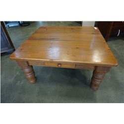 MODERN 1 DRAWER WOODEN COFFEE TABLE