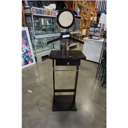 AS NEW VALET STAND W/ MIRROR