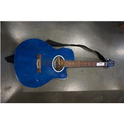 BLUE VS ACOUSTIC GUITAR