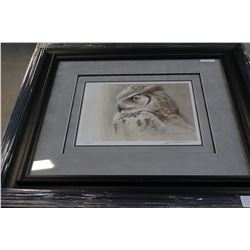 """SAMANTHA - GREAT HORNED OWL"" LEP BY ROBERT BATEMAN #25054"