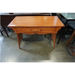 MAPLE 1 DRAWER DESK AND STOOL