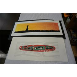 2 FIRST NATIONS LIMITED EDITION PRINTS