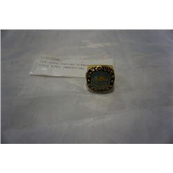 VANCOUVER CANUCKS STANLEY CUP STYLE RING, UNOFFICIAL