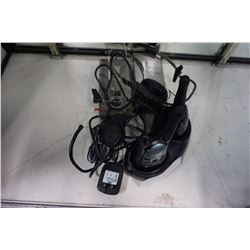 2 MOTOROLA WALKIE TALKIES AND 2 MAXON 49-H5 COMMUNICATORS