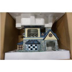 PARTY LITE CANDLE SHOPPE TEA LIGHT HOUSE