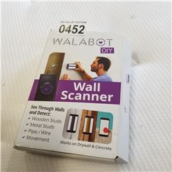 WALBOT SMART PHONE WALL SCANNER STUD FINDER, PIPE/WIRE FINDER, MOVEMENT DETECTOR