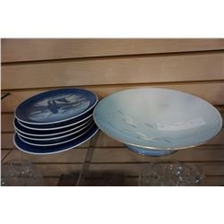 ROYAL COPENHAGEN PLATES AND BOWLS