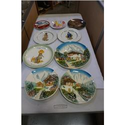 WEST GERMAN COLLECTOR PLATES, OTHER COLLECTOR PLATES, DISNEY, AND BLUE BOY