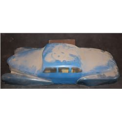 DICK TRACY 1940'S SLOT CAR LARGE SCALE ANTIQUE FILMING MINIATURE 2