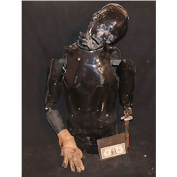 HOLLOW MAN SCREEN USED HERO ANIMATRONIC BURNING KEVIN BACON PUPPET