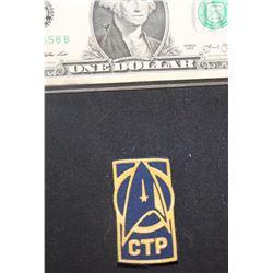 STAR TREK DISCOVERY CTP COMMAND TRAINING PROGRAM BADGE 1