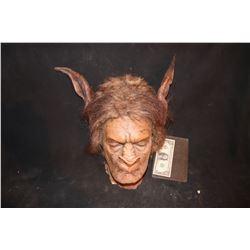 CREATURE ALIEN DEMON SCREEN USED HEAD PIECE ON MAKE UP TEST HEAD