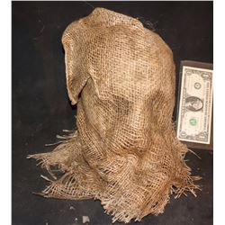 ANNABELLE CREATION SCREEN USED SCARECROW HEAD MASK