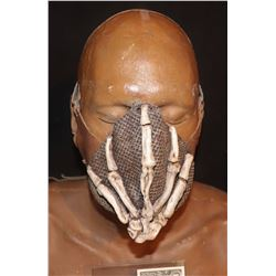 VOODOO SKELETON HAND LEATHER FACE MASK WITH LEATHER STRAPS