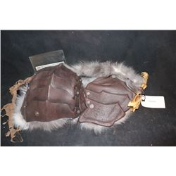 VOODOO CHEST ARMOR WITH FUR AND STRAP