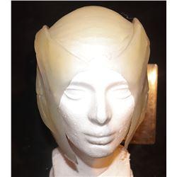 SILICONE AQUATIC HEAD PIECE PAINTED