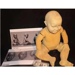 GIANT BABY CGI MODEL WITH PRODUCTION IMAGES