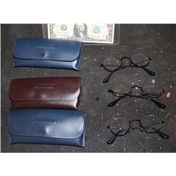 DOGBERT DOG GLASSES 3 PAIRS IN CASES