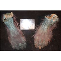 EVOLUTION BLUE PRIMATE FEET MATCHED PAIR 1