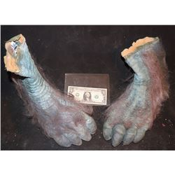 EVOLUTION BLUE PRIMATE FEET MATCHED PAIR 3
