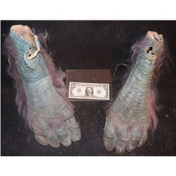 EVOLUTION BLUE PRIMATE FEET MATCHED PAIR 5