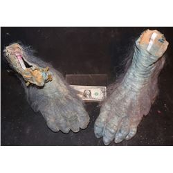 EVOLUTION BLUE PRIMATE FEET MATCHED PAIR 7
