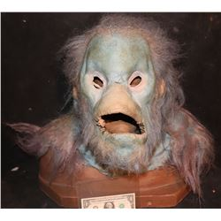 EVOLUTION BLUE PRIMATE SCREEN USED HEAD SKIN