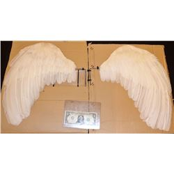 CUPID REAL FEATHER WINGS IN BEAUTIFUL CONDITION!