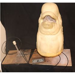 BELUGA WHALE ANIMATRONIC PUPPET WITH TRIGGERS