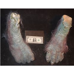 EVOLUTION BLUE PRIMATE FEET MATCHED PAIR 4
