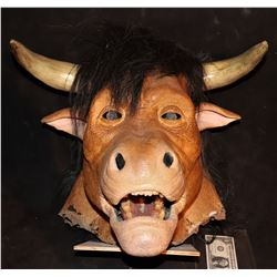 MINOTAUR FULL HEAD MASK FROM SUPER CAPERS
