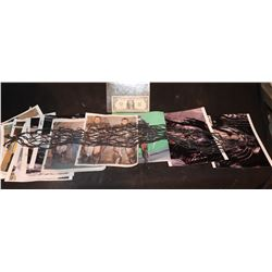PREDATOR SCREEN USED ARM NET MESH WITH UNPUBLISHED BTS PHOTOS