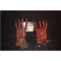 CREATURE ALIEN DEMON ARMS WITH HANDS WEARABLE MATCHED PAIR 3