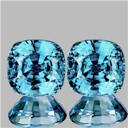 Natural AAA Seaform Blue Zircon {Flawless-VVS1}
