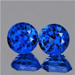 Natural Rare Intense Blue Hauyne 2.20 MM {VVS1)