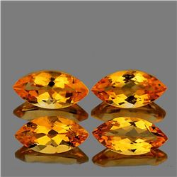 NATURAL TOP GOLDEN YELLOW CITRINE 12x6 MM [IF-VVS]