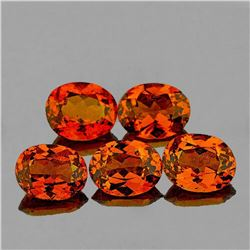 NATURAL CINNAMON ORANGE HESSONITE GARNET [VVS]