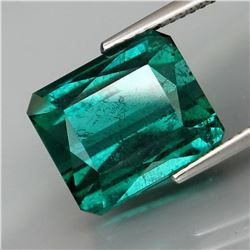 Natural BIG Bluish Green Tourmaline 8.60 Cts