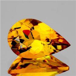 NATURAL INTENSE GOLDEN YELLOW CITRINE 19x12 MM