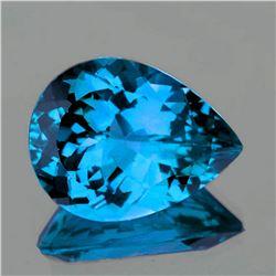 Natural Magnificent Swiss Blue Topaz 21x15 MM - FL