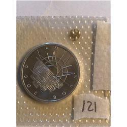 1989 Silver Germen Federal Republic 10 Marks 1000 JAHRE BONN in Original Package