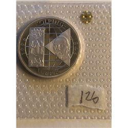1996 Silver Germen Federal Republic 10 Marks KOLPING WERK in Original Package