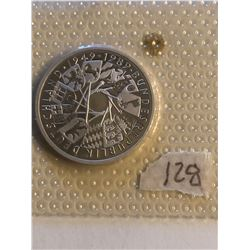 1989 Silver Germen Federal Republic 10 Marks BUNDESREPUBLIK DEUTSCHLAND in Original Package