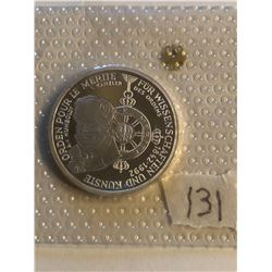 1992 Silver Germen Federal Republic 10 Marks ORDEN POUR LE MERITE in Original Package