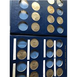 1986-2001 Kennedy Half Dollar Collection in Book 17 Total Coins