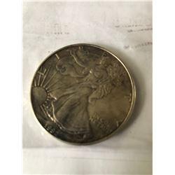 1992 US Silver Eagle