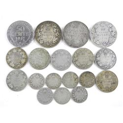 Estate Lot - Early Canada Silver Coins - 99 Grams.
