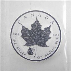 .9999 Fine Silver $5.00 Coin 2016 Panda Privy Mark